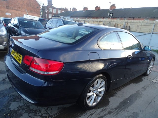 USED 2007 07 BMW 3 SERIES 2.0 320D SE 2d 175 BHP FULL LEATHER