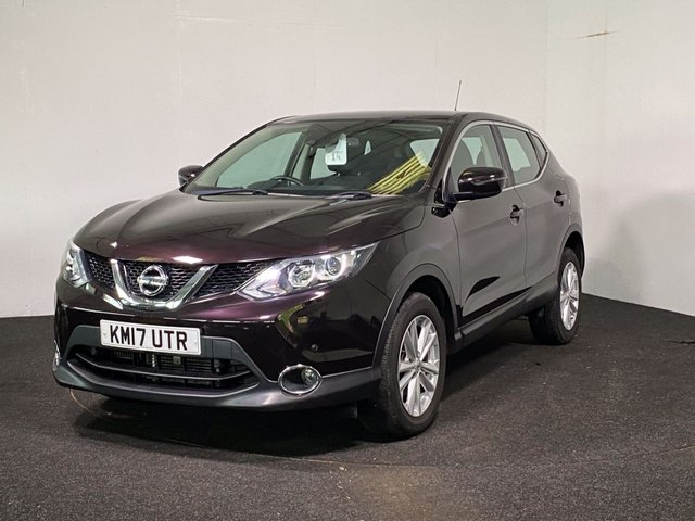USED 2017 17 NISSAN QASHQAI 1.2 ACENTA DIG-T SMART VISION XTRONIC 5d 113 BHP DELIVERY + CLICK & COLLECT NOW AVAILABLE ON THIS VEHICLE