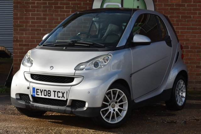 USED 2008 08 SMART FORTWO 1.0 PASSION 2d AUTO 70 BHP