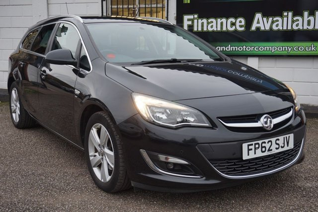 USED 2012 62 VAUXHALL ASTRA 2.0 SRI CDTI S/S 5d 163 BHP 8 Service Stamps, 2 Owners, Privacy, Rear Parking Aid,