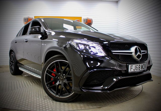 USED 2018 68 MERCEDES-BENZ GLE-CLASS 5.5 AMG GLE 63 S 4MATIC NIGHT EDITION 4d 577 BHP