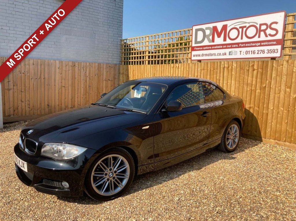 USED 2010 10 BMW 1 SERIES 2.0 118D M SPORT 2d 141 BHP *** AUTOMATIC *** 6 MONTHS NATIONWIDE GOLD WARRANTY ***