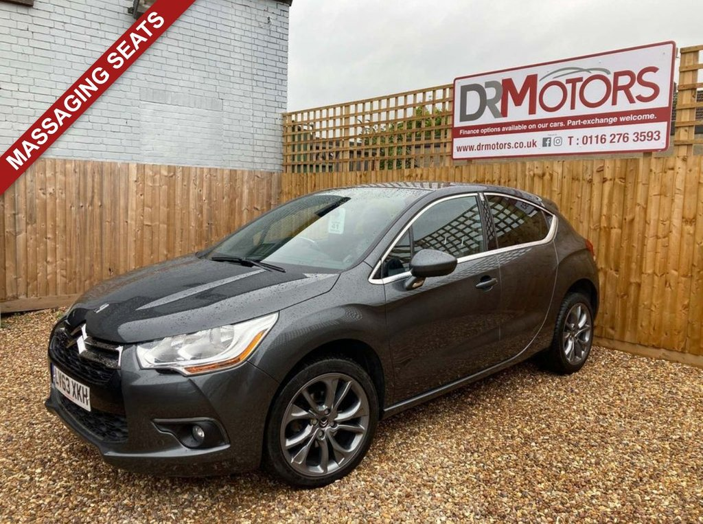 USED 2013 63 CITROEN DS4 1.6 E-HDI AIRDREAM DSTYLE 5d 115 BHP *** 6 MONTHS NATIONWIDE GOLD WARRANTY ***