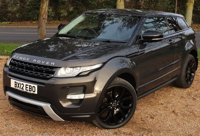 2012 12 LAND ROVER RANGE ROVER EVOQUE 2.2 SD4 DYNAMIC 3d 190 BHP AUTOMATIC