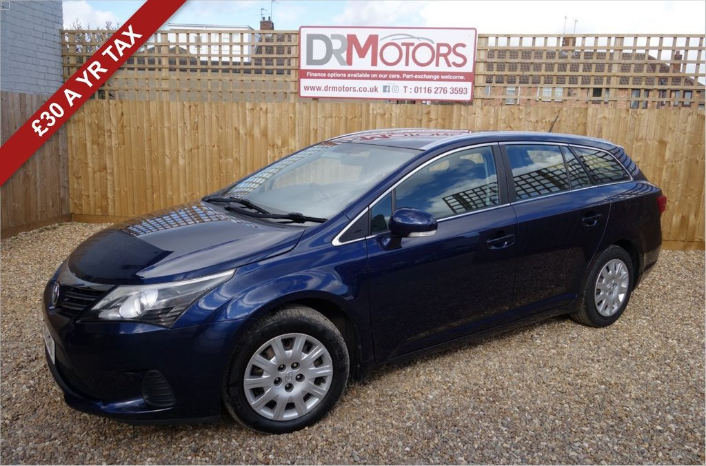 USED 2013 13 TOYOTA AVENSIS 2.0 D-4D ACTIVE 5d 124 BHP *** 6 MONTHS NATIONWIDE GOLD WARRANTY ***