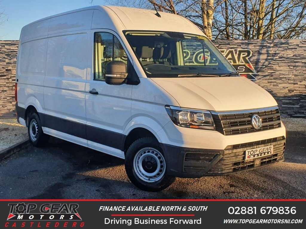 USED 2017 17 VOLKSWAGEN CRAFTER CR35 2.0TDI 140BHP MWB HR TRENDLINE  ** CRUISE CONTROL , BLUETOOTH HANDS FREE, MWB,  PLY LINED **