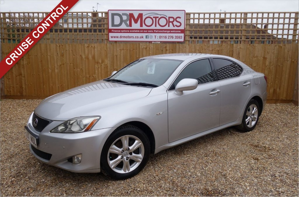 USED 2007 57 LEXUS IS 2.2 220D 4d 175 BHP *** 6 MONTHS NATIONWIDE GOLD WARRANTY ***