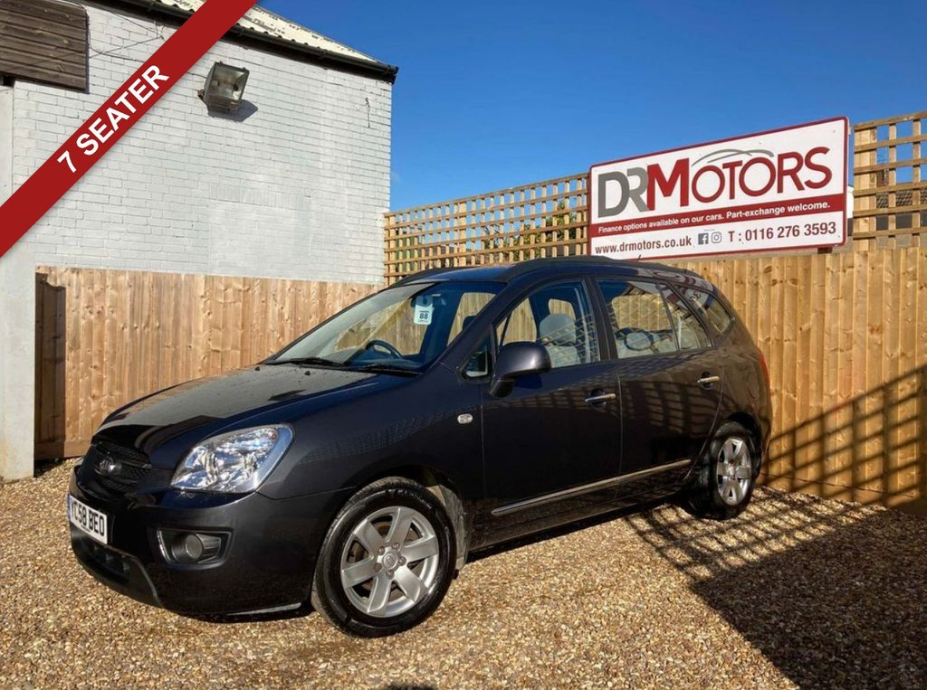USED 2008 58 KIA CARENS 2.0 GS 5d 142 BHP *** 6 MONTHS NATIONWIDE GOLD WARRANTY ***