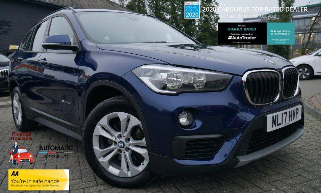 USED 2017 17 BMW X1 2.0 SDRIVE18D SE 5d 148 BHP 2017 BMW X1 2.0 SDRIVE18D SE 5d 148 BHP 1 OWNER  EURO6 SATNAV BLUETOOT