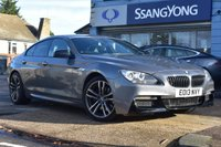USED 2013 13 BMW 6 SERIES 3.0 640D M SPORT GRAN COUPE 4d 309 BHP FINANCE FROM £319 PER MONTH £0 DEPOSIT