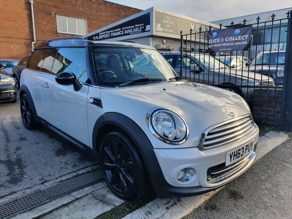 USED 2013 63 MINI CLUBMAN 1.6 COOPER 5d 122 BHP CHILI PACK + HALF LEATHER + DRIVE AWAY TODAY!