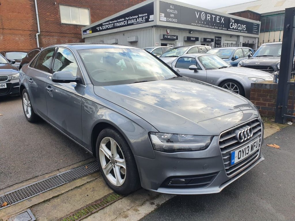 USED 2013 13 AUDI A4 1.8 TFSI SE TECHNIK 4d 168 BHP FULL LEATHER + SAT-NAV + A/C