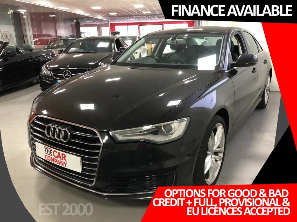 USED 2015 65 AUDI A6 2.0 TDI ULTRA SE 4d 188 BHP * NAV * 20 INCH ALLOYS * MOT SEPT 2021 * PADDLE SHIFT * HEATED FRONT & OUTER REAR SEATS *