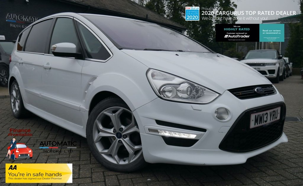 USED 2013 13 FORD S-MAX 2.0 TITANIUM X SPORT TDCI 5d 161 BHP 2013 FORD S-MAX 2.0 TITANIUM X SPORT 1 OWNER FROM NEW BLUETOOTH