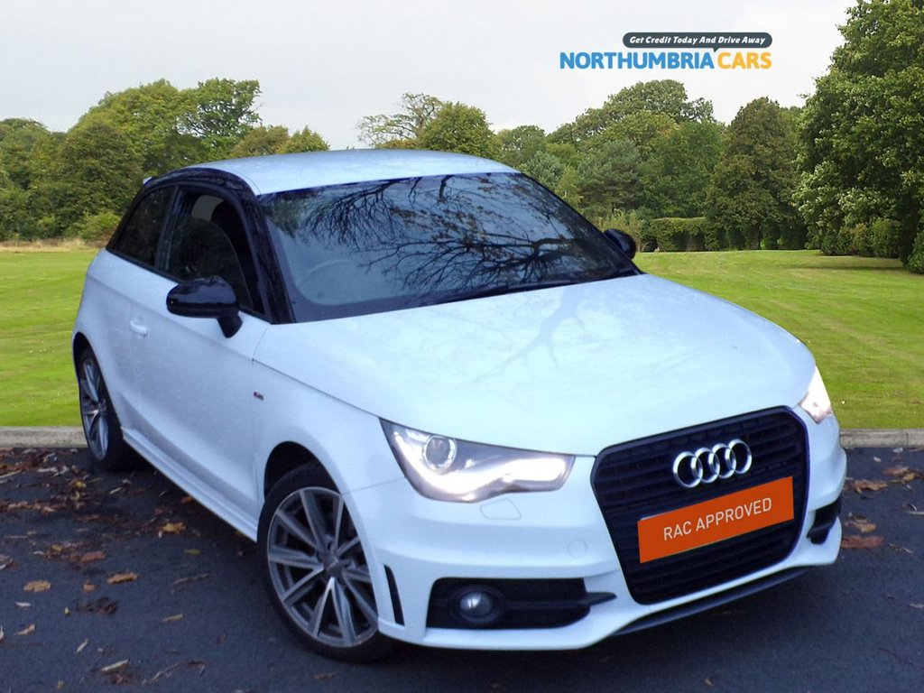 USED 2013 63 AUDI A1 1.4 TFSI S LINE STYLE EDITION 3d 121 BHP