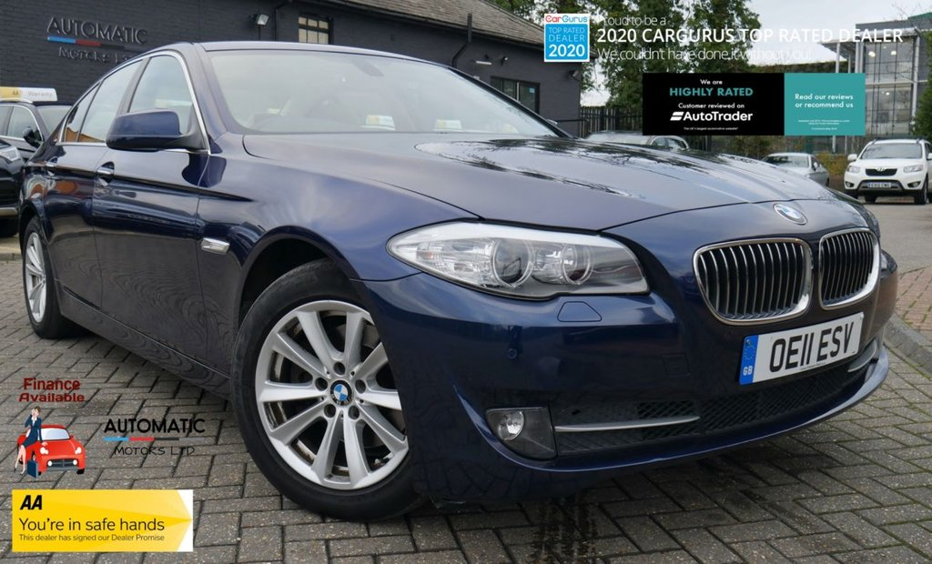 USED 2011 11 BMW 5 SERIES 3.0 523I SE 4d 202 BHP 2011 BMW 5 SERIES 3.0 523I SE 4d 202 BHP BLUETOOTH ULEZ PARKING SENSOR