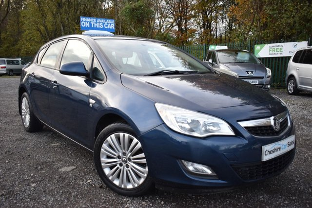 USED 2012 61 VAUXHALL ASTRA 1.6 EXCITE 5d 113 BHP