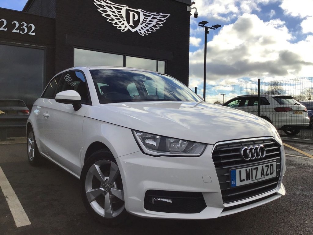 USED 2017 17 AUDI A1 1.0 TFSI SPORT 3d 93 BHP CLEAN EXAMPLE , LOW MILEAGE