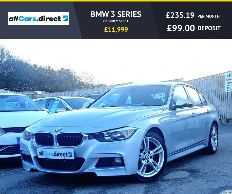 USED 2014 64 BMW 3 SERIES 2.0 320D M SPORT