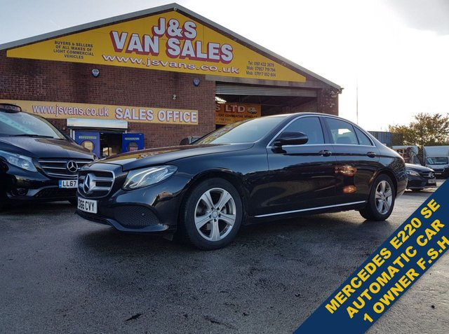 USED 2016 66 MERCEDES-BENZ E-CLASS 2.0 E 220 D SE 4d 192 BHP AUTOMATIC 9G F.S.H  ##### LOTS MORE EURO 6 LOW CO CARS / VANS IN STOCK #####