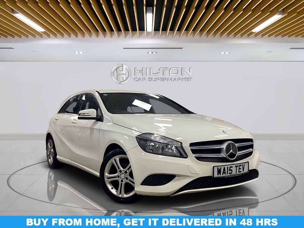 USED 2015 15 MERCEDES-BENZ A-CLASS 1.5 A180 CDI SPORT EDITION 5d 107 BHP Navigation System, Leather Seats, Alloy Wheels, Parking Sensor(s), Climate Control