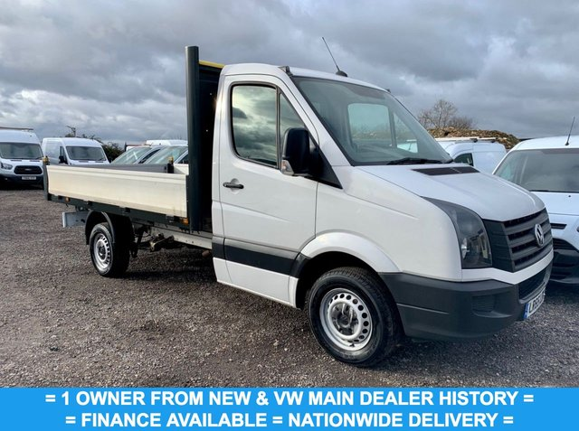 USED 2015 65 VOLKSWAGEN CRAFTER 2.0 CR35 TDI DROPSIDE 109 BHP