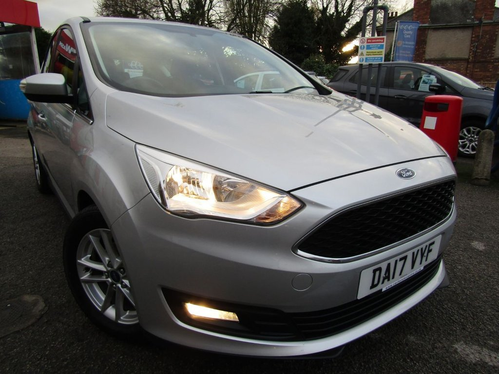 USED 2017 17 FORD C-MAX 1.6 ZETEC 5d 124 BHP Wow lowest miles ** One owner ** A Grade Ex motability car ** Free delivery ** Click & collect online ** Check our feedback ** SAT NAV MODEL ** 12 Mths AA breakdown cover **