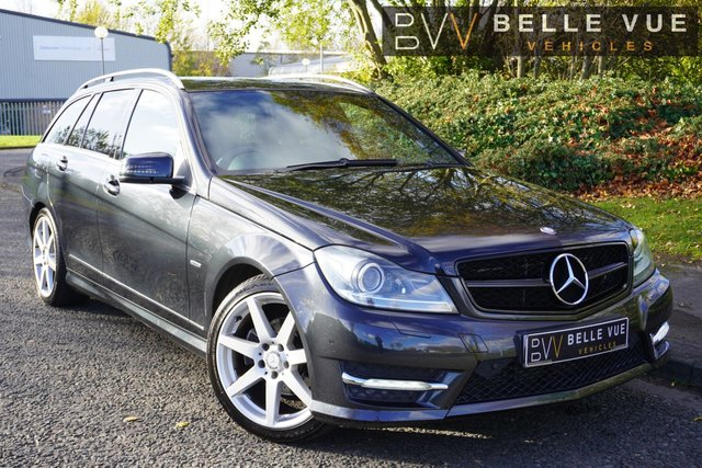 "USED 2011 61 MERCEDES-BENZ C-CLASS 2.1 C250 CDI BLUEEFFICIENCY SPORT ED125 5d 204 BHP *HARMAN/KARDON SOUND UPGRADE, 18"" AMG ALLOYS, SAT NAV!*"