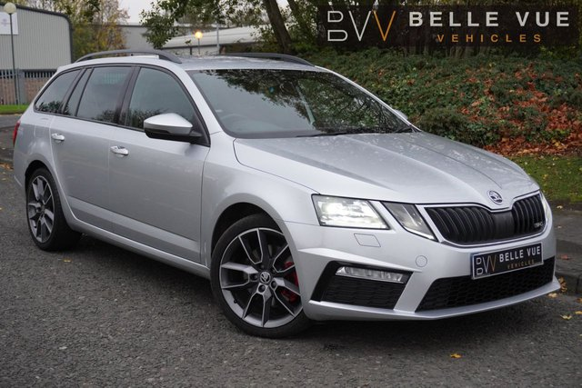 USED 2017 17 SKODA OCTAVIA 2.0 VRS TDI DSG 5d 181 BHP *MODERN TOUCH SCREEN ENTERTAINMENT, APPLE CAR PLAY + ANDROID AUTO, VRS STYLING!*