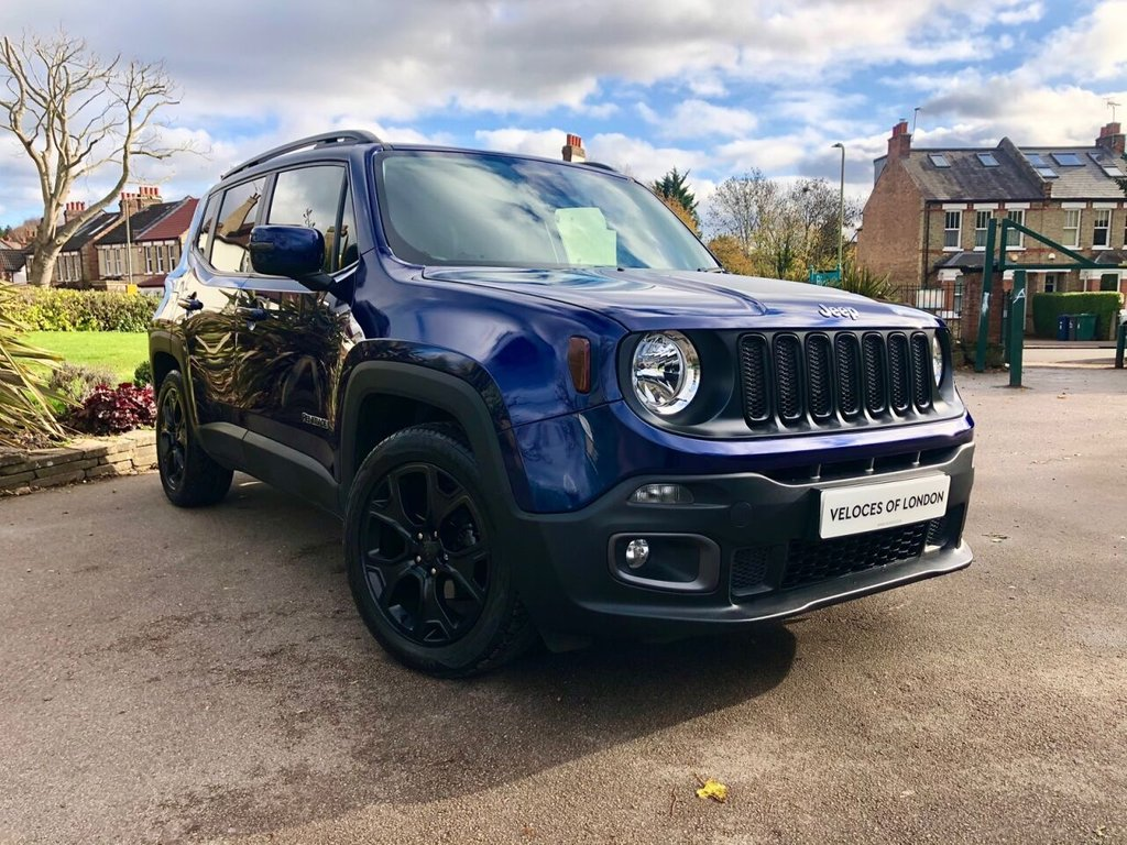 USED 2017 67 JEEP RENEGADE 1.4 LONGITUDE 5d 138 BHP £3000 WORTH OF ASCARI DESIGN PACK
