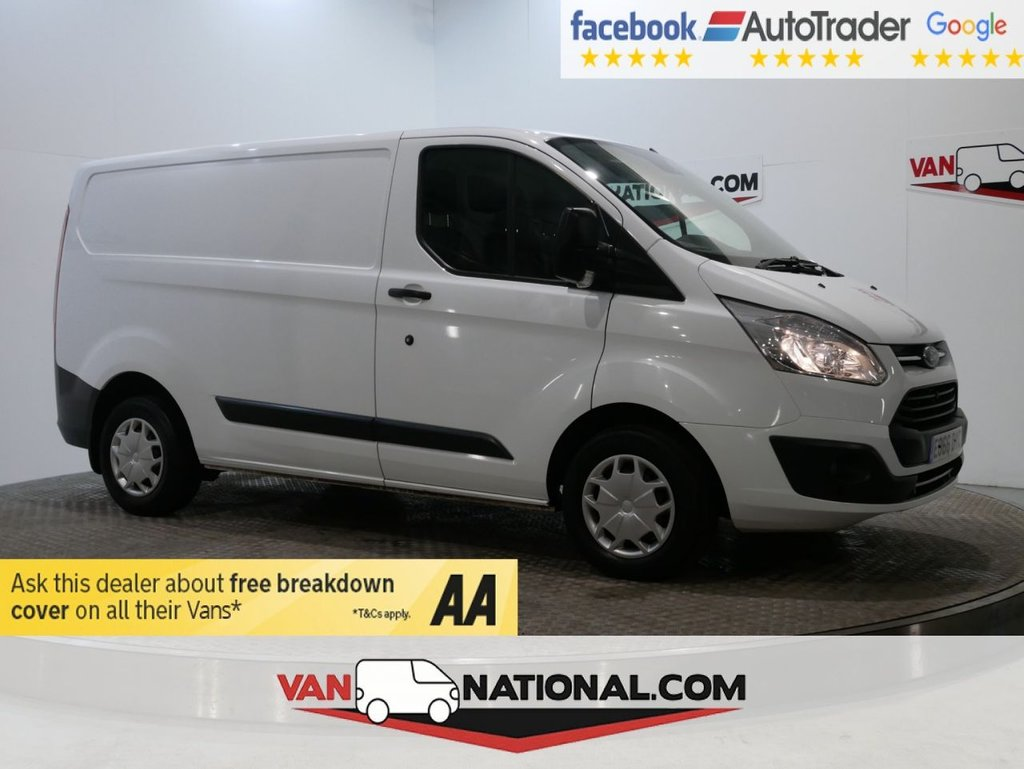 USED 2016 66 FORD TRANSIT CUSTOM 2.0 270 TREND *TAILGATE * EURO 6 * SENSORS*1 OWNER* * ONE OWNER * EURO 6 * TAILGATE * ZERO DEPOSIT FINANCE AVAILABLE *