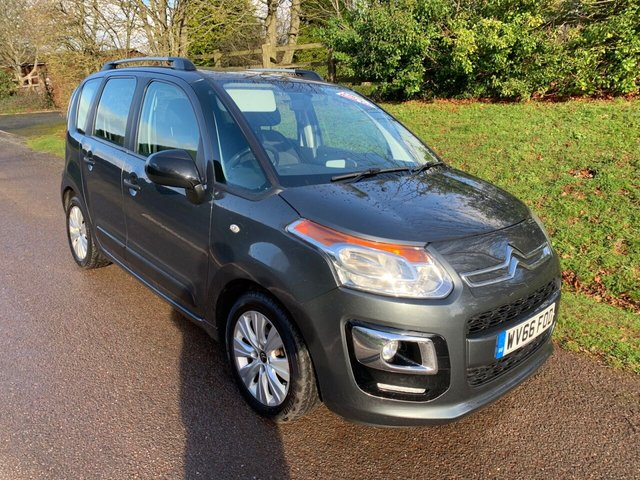 USED 2016 66 CITROEN C3 PICASSO 1.6 BLUEHDI EDITION PICASSO 5d 98 BHP ** MOT ** FULL SERVICE HISTORY ** £20 ROAD FUND **