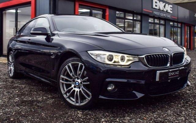 2017 67 BMW 4 SERIES 2.0 420D XDRIVE M SPORT GRAN COUPE 4d 188 BHP