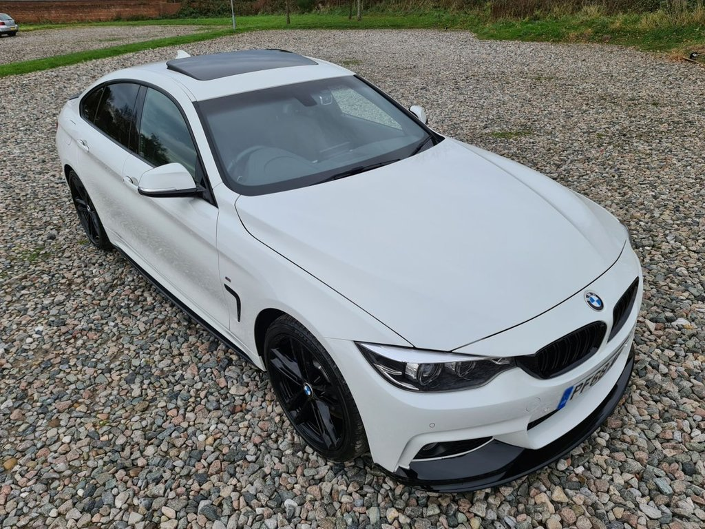 USED 2018 68 BMW 4 SERIES 3.0 430D M SPORT GRAN COUPE 4d 255 BHP