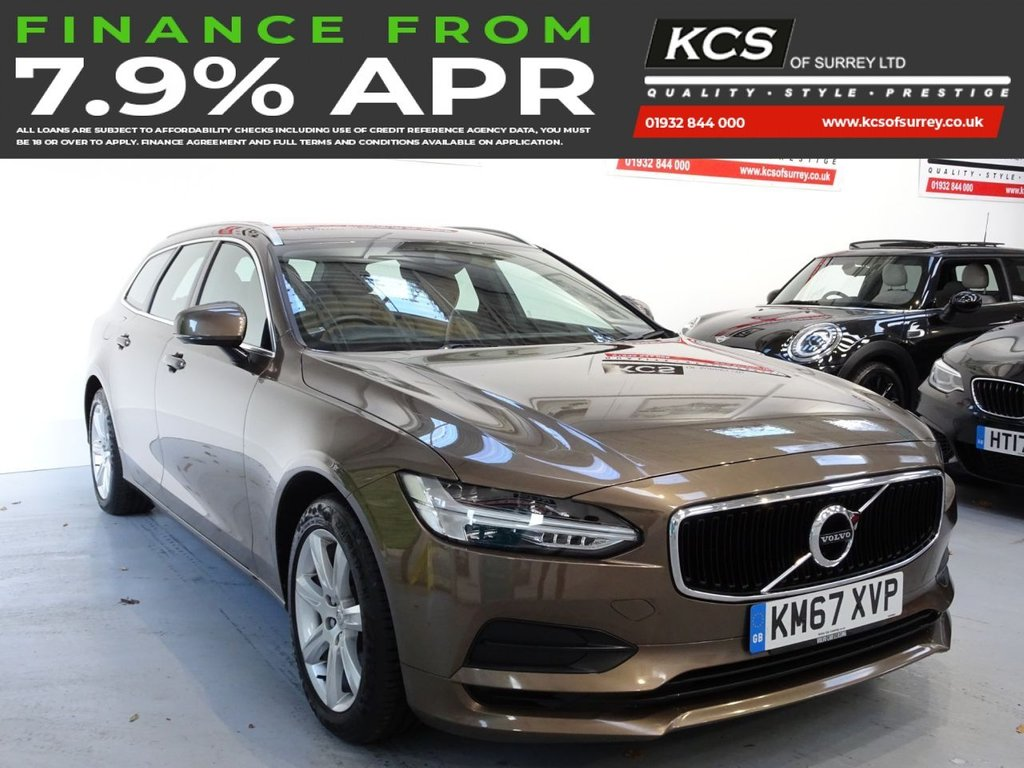 USED 2017 67 VOLVO V90 2.0 D4 MOMENTUM 5d 188 BHP SAT NAV-ELECTRIC MEMORY SEAT
