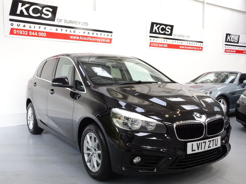 USED 2017 17 BMW 2 SERIES 1.5 218I SE ACTIVE TOURER 5d 134 BHP SAT NAV - PAN ROOF - CAMERA
