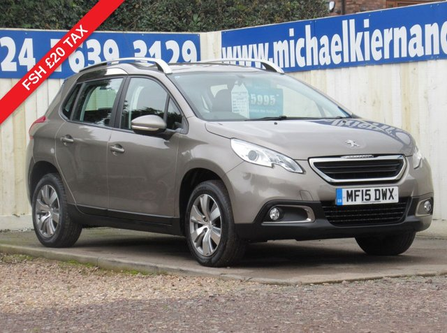 USED 2015 15 PEUGEOT 2008 1.4 HDI ACTIVE 5d 68 BHP IMMACULATE VEHICLE