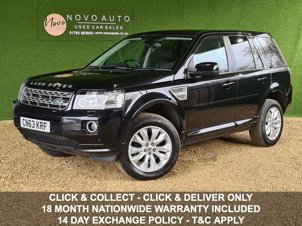 USED 2013 63 LAND ROVER FREELANDER 2.2 SD4 HSE 5d 190 BHP