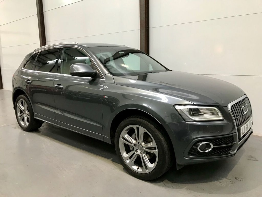 USED 2014 64 AUDI Q5 2.0 TDI QUATTRO S LINE PLUS 5d 175 BHP Over 4k of Fitted Extras!