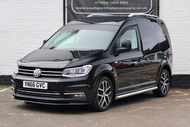 2016 66 VOLKSWAGEN CADDY 2.0 C20 TDI HIGHLINE 148 BHP