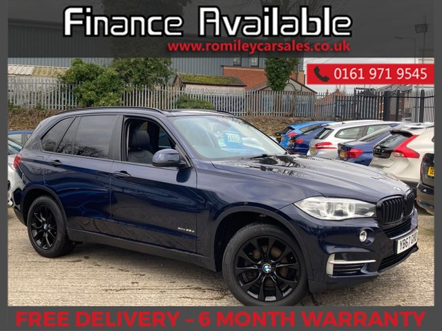 USED 2017 67 BMW X5 2.0 XDRIVE25D SE 5d 231 BHP FSH - PAN ROOF - 7 SEATER - PRO NAV - 360 CAMERAS - BT MEDIA/BT AUDIO - LANE ASSIST - MOOD LIGHTING