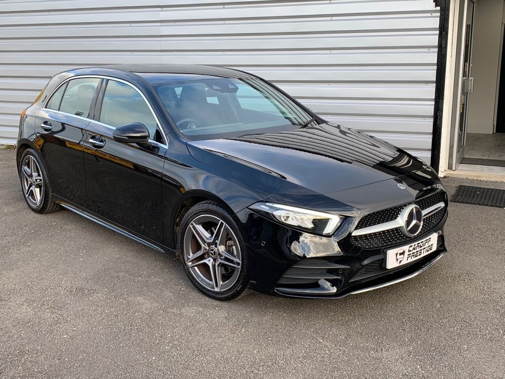 USED 2018 68 MERCEDES-BENZ A-CLASS 1.3 A 200 AMG LINE PREMIUM 5d 161 BHP PLEASE WATCH OUR 4K VIDEO