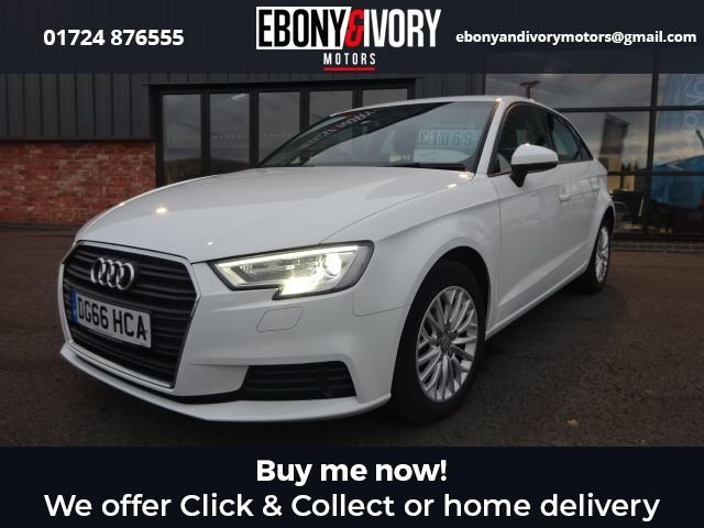 USED 2016 66 AUDI A3 2.0 TDI SE TECHNIK 5d 148 BHP FULL AUDI SERVICE HISTORY + 1 YEAR MOT AND BREAKDOWN COVER