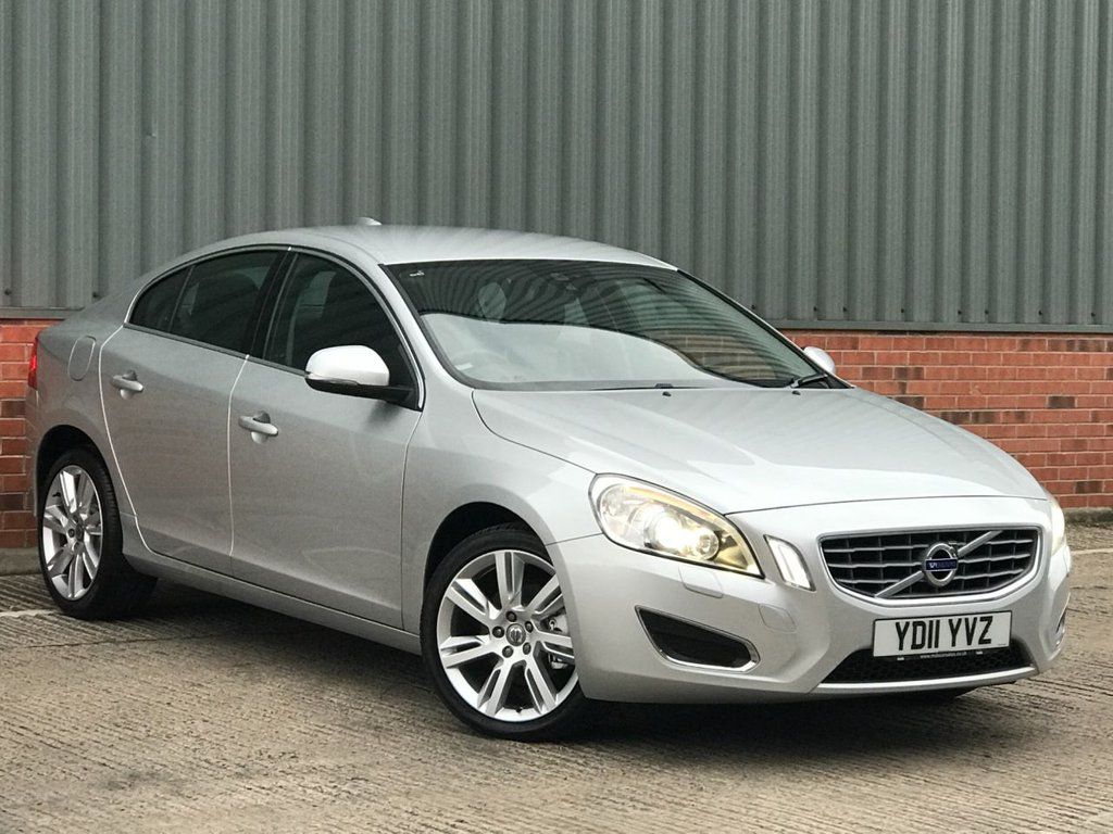 USED 2011 11 VOLVO S60 1.6 T4 SE LUX 4d 177 BHP EXCELLENT LOW MILEAGE EXAMPLE