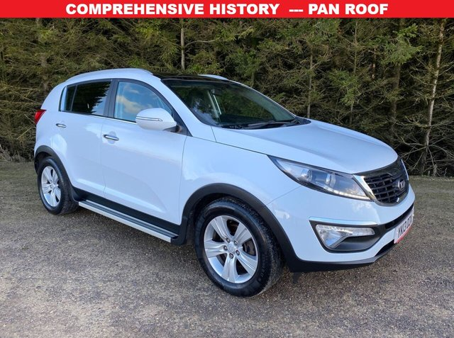 USED 2013 13 KIA SPORTAGE 1.7 CRDI 2 5d 114 BHP COMPREHENSIVE HISTORY -- GREAT CONDITION -- PAN ROOF