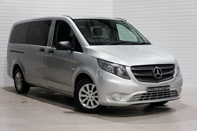 2016 16 MERCEDES-BENZ VITO 2.1 116 BLUETEC TOURER AUTOMATIC 163 BHP 8 SEATER