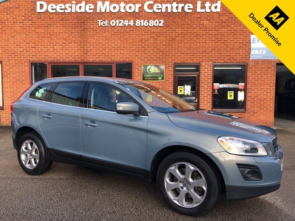 USED 2009 59 VOLVO XC60 2.4 D5 SE LUX AWD 5d 205 BHP Full Volvo service history : Sat Nav : Leather upholstery : Electric/Heated front seats : Air-conditioning/Climate control : Cruise control  :  Volvo Hill Descent Control  :  Cargo/Load cover  :  Rear parking sensors