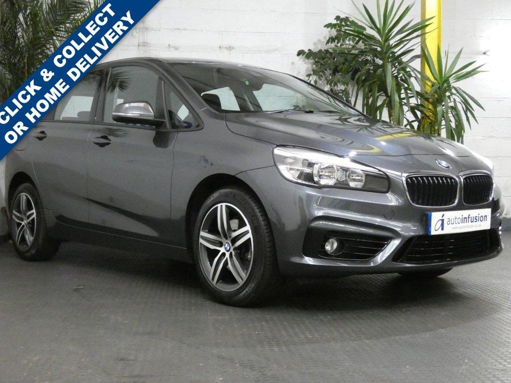 USED 2017 67 BMW 2 SERIES 2.0 218D SPORT ACTIVE TOURER 5d 148 BHP SAT NAV 1 OWNER FSH