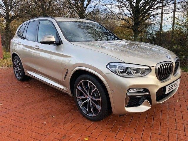 2019 69 BMW X3 3.0 M40I 5d 356 BHP