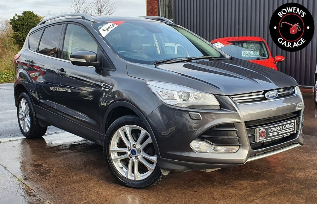 USED 2016 16 FORD KUGA 2.0 TITANIUM X TDCI 5D 148 BHP 2 Owners - Low Miles - 5 Services - Huge Spec